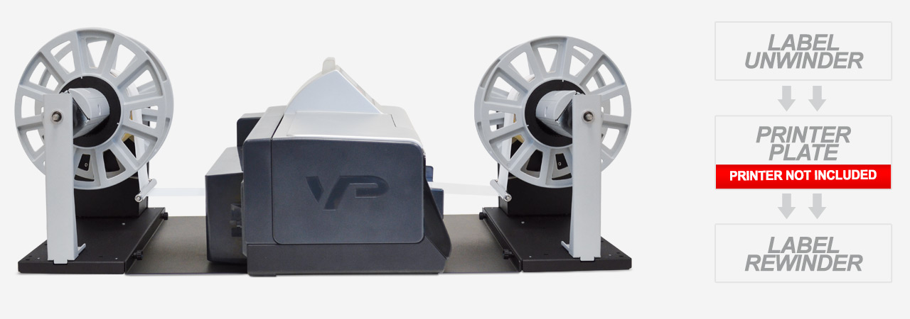 label unwinder/rewinder for VipColor VP series